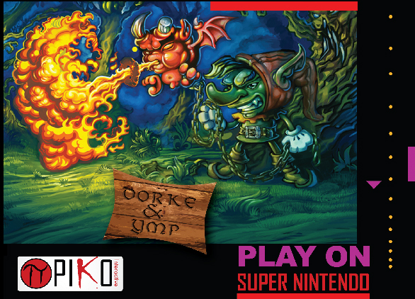 Dorke and Ymp (SNES)