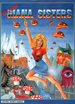 The Great Giana Sisters Coverart